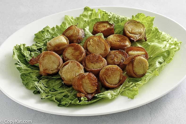 , Red Lobster Bacon Wrapped Scallops