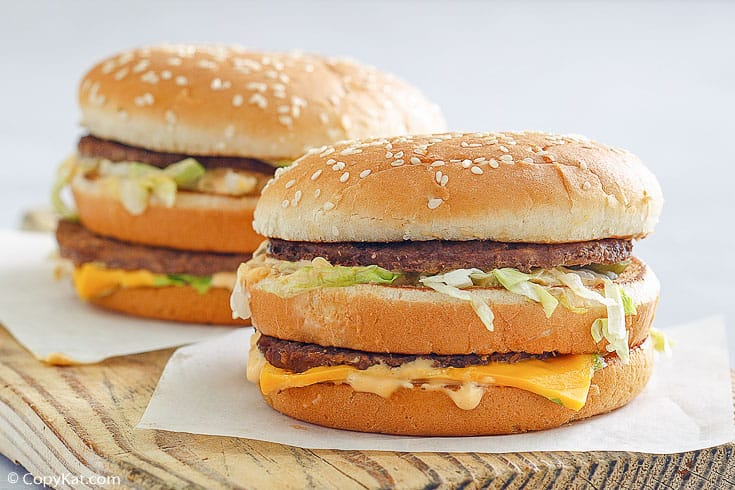 , Homemade Big Mac with Special Sauce