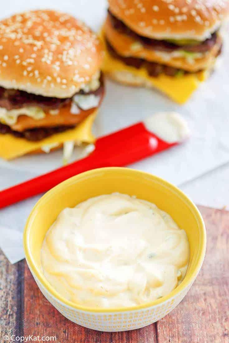 , McDonald's Secret Sauce aka Big Mac Special Sauce