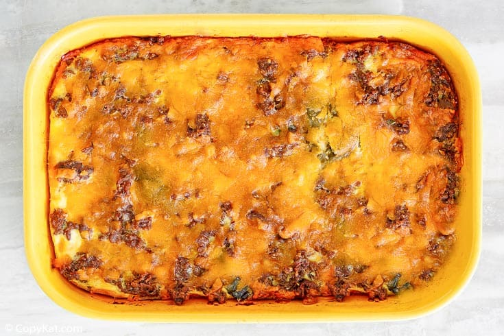 , Easy Chili Relleno Casserole with Beef