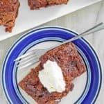 , Old Fashioned Chocolate Pudding Cake