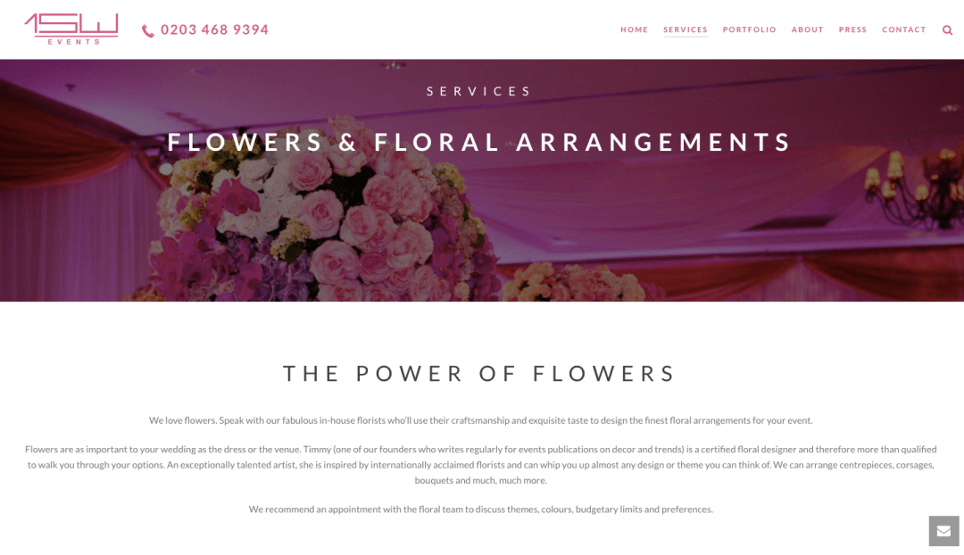 1SW Floral Page