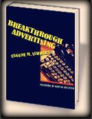 cover libro copywriting persuasione di eugene schwartz breakthrough advertising, appunti di andrea lisi copywriter