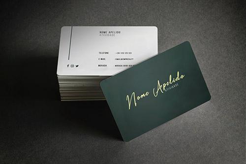 Cartão de Visita Premium C7