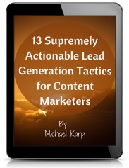 Download 13 Actionable Lead Generation Tactics - Image