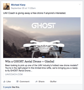 Facebook Group 2 - Drones Clasifico