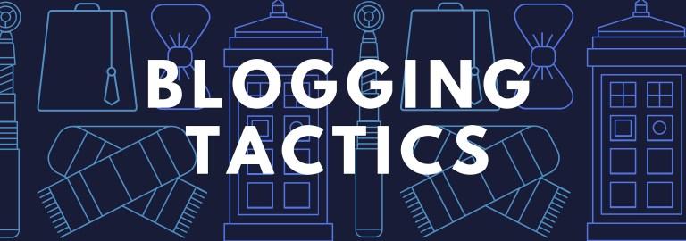 Blogging Tactics Header