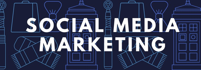 Social Media Marketing Header