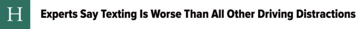 headline example from huffington post