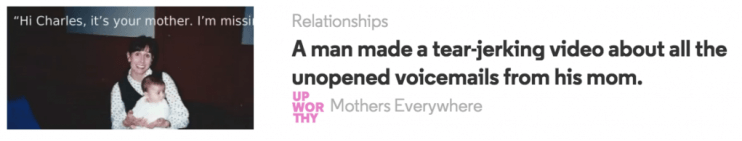headline example from upworthy