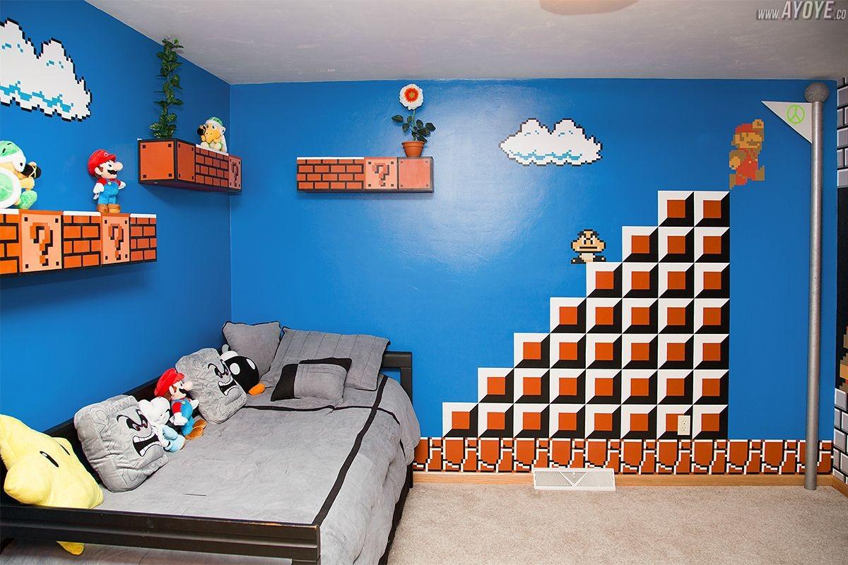 Une chambre pour un fan de Mario Bros  Cocktail