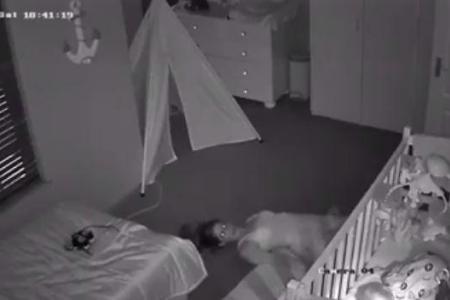 La technique trs spciale dune maman pour quitter la chambre de son bb sans le rveiller