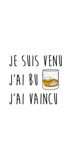 J Ai Vu J Ai Vaincu : vaincu, Coque, Vaincu, Coque-Design