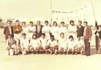 """El C.D. Molinense en la temporada 1974-75, se despide de """"El Romeral"""" ascendiendo a Primera Regional."""