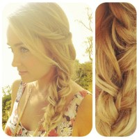 Coquette: DIY Hair Tutorials: Lauren Conrad's Loose Side ...