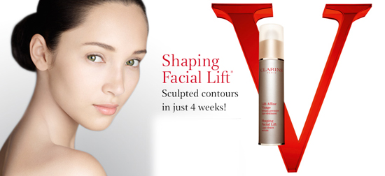 Coquette Clarins Shaping Facial Lift Serum Give Your