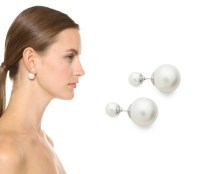 Coquette: Jarin K Double Side Pearl Earrings: Dior Dupe