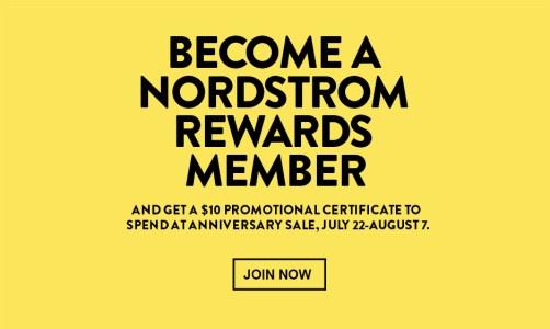 Nordstrom Anniversary Sale #NSALE Cardholder