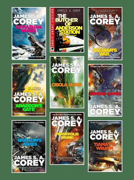 James S. A. Corey : james, corey, Novels, Novellas, Expanse, Universe, James, Corey, Seattle, Public, Library, BiblioCommons