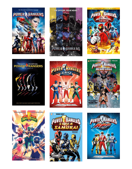 Power Rangers Day : power, rangers, National, Power, Rangers, Chicago, Public, Library, BiblioCommons