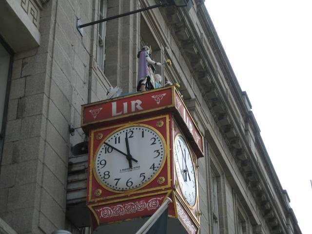 Storefront clock