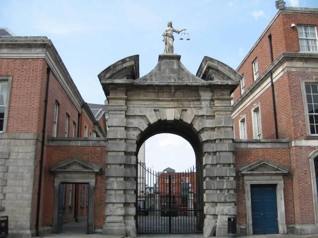 Arch at Dublin Castle