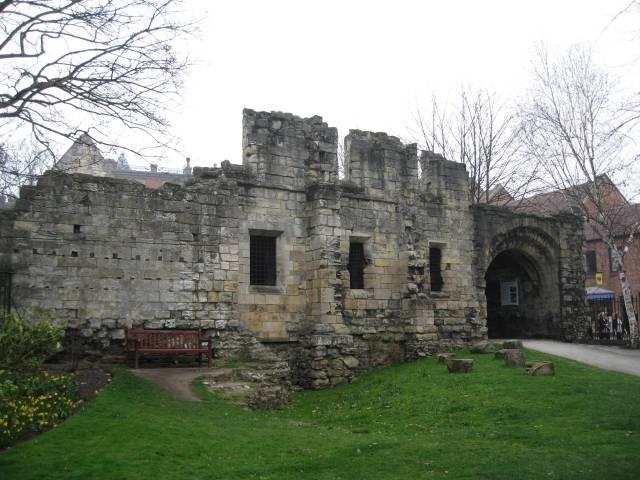 Ruin at York museum