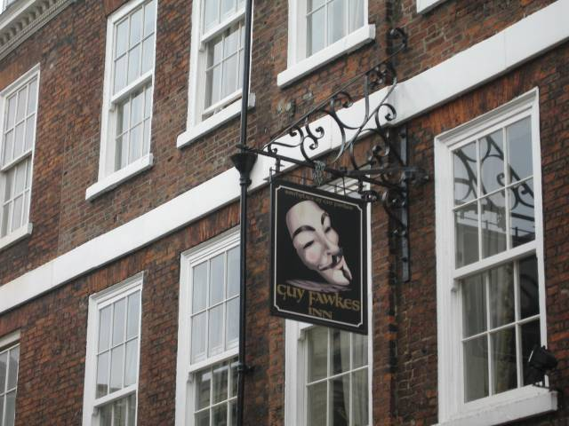 Guy Fawkes Tavern in York