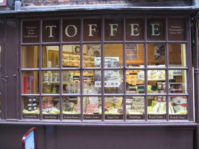 Toffee shop in York