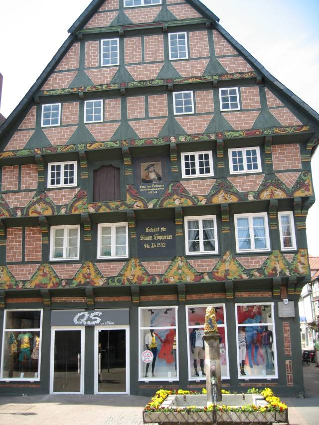 Timbered house, Celle