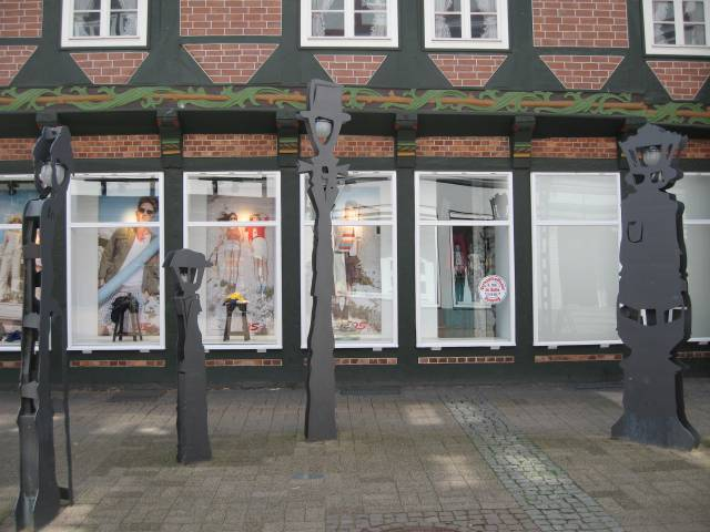 Talking lampposts in Celle