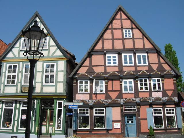 Timbered houses, Celle