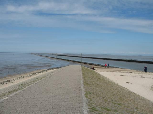Harlesiel beach
