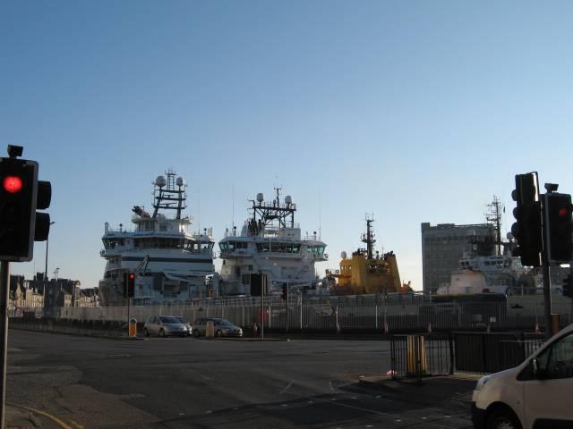 Aberdeen supply ships
