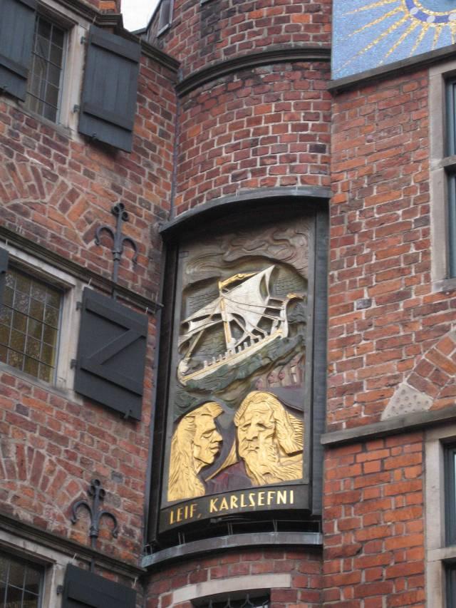 Böttcherstraße Glockenspiel Leif