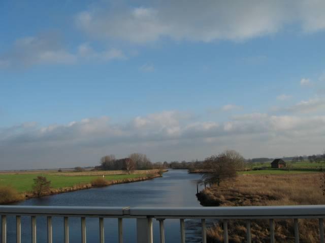 Teufelsmoor, river Hamme