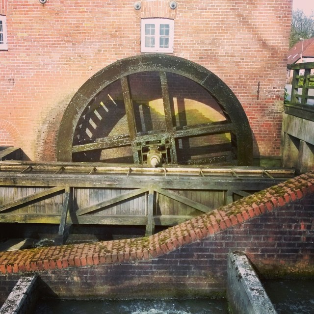 Heiligenrode water mill wheel