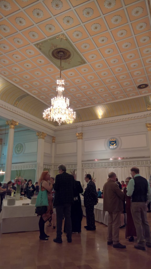 WorldCon 75 reception at Helsink City Hall