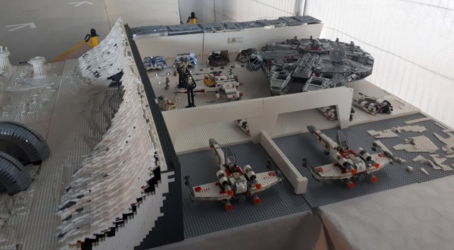 Lego Hoth rebel base interior