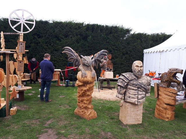 Steamfest Papenburg wood carving