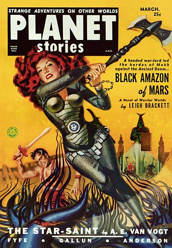 Planet Stories March 1951