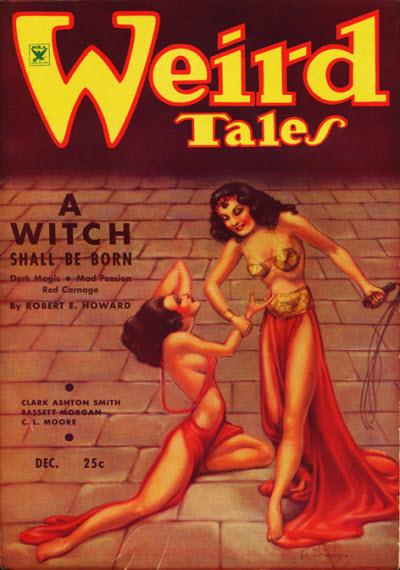 Weird Tales December 1934