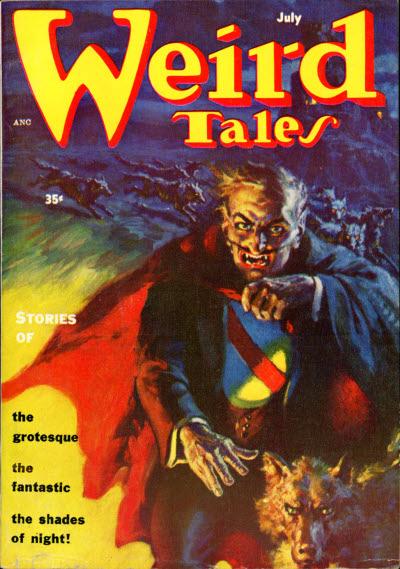 Weird Tales July 1954