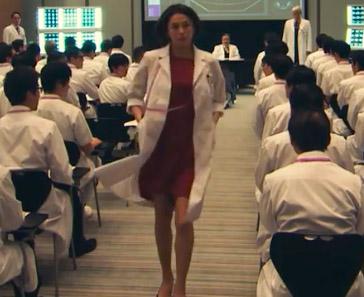 ドクターX5・7話衣装!大門未知子・米倉涼子の赤ワンピースが可愛い!ブランドはどこ?