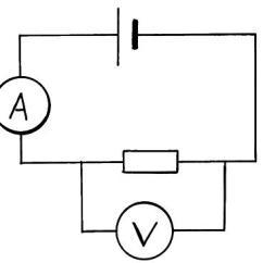 Resistor Circuit Diagram Wiring Amp Meter Diagramamp Voltmeter Vs Manual E Booksamp