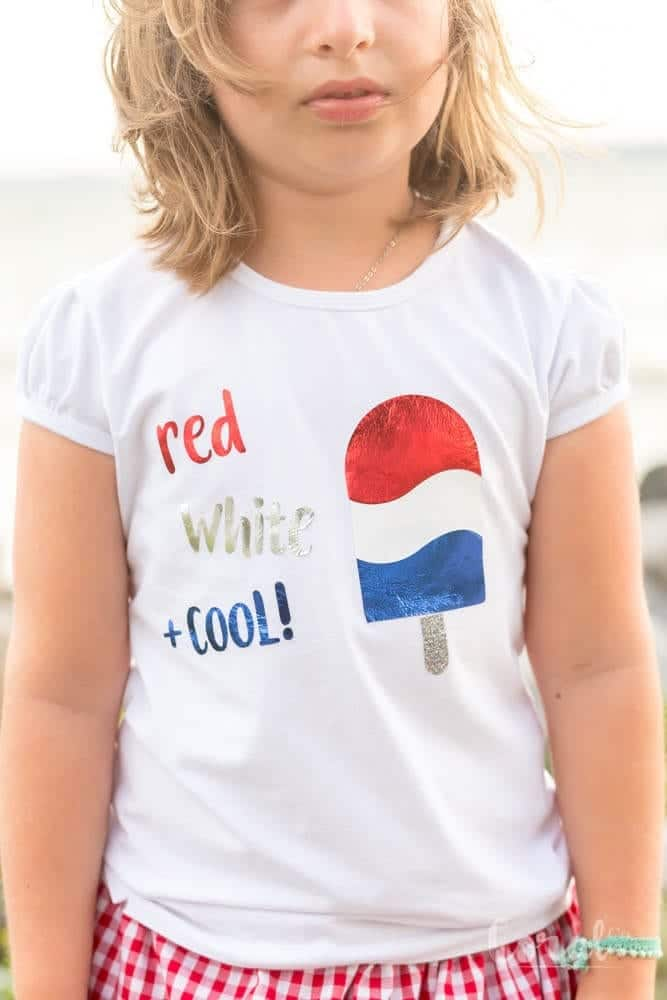 4th Of July Shirt Svg : shirt, Files, White, Popsicle
