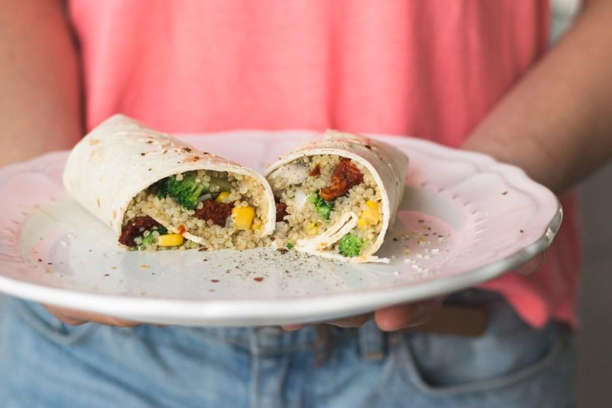 Quinoa-Brokkoli-Burrito 2