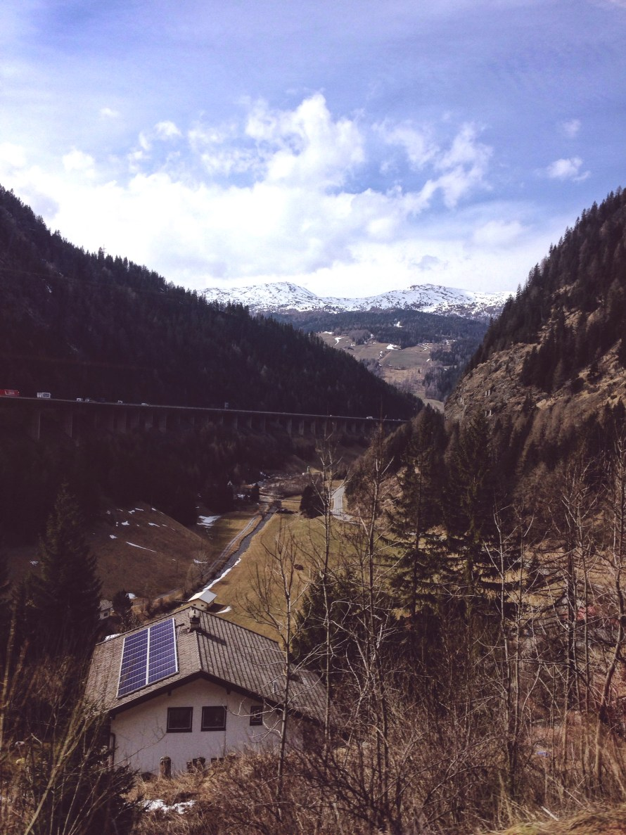Südtirol Zugfahrt