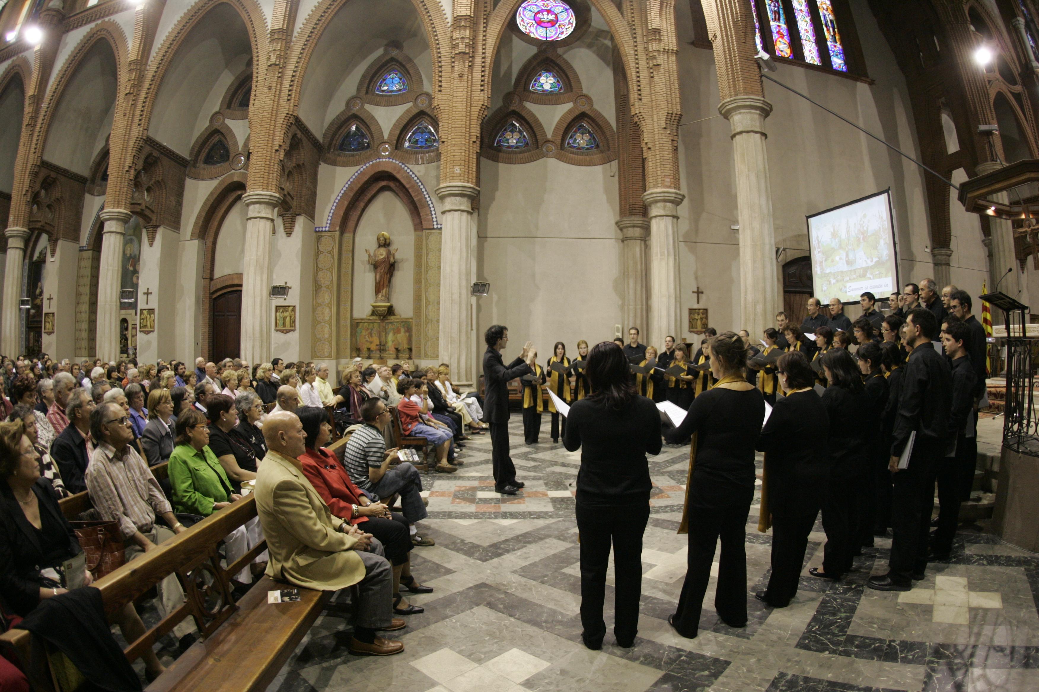 Concert a l'església de Sant Agustí de Sabadell, 28.9.08