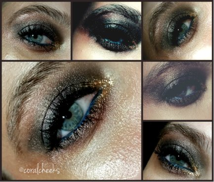 collage shiny eye